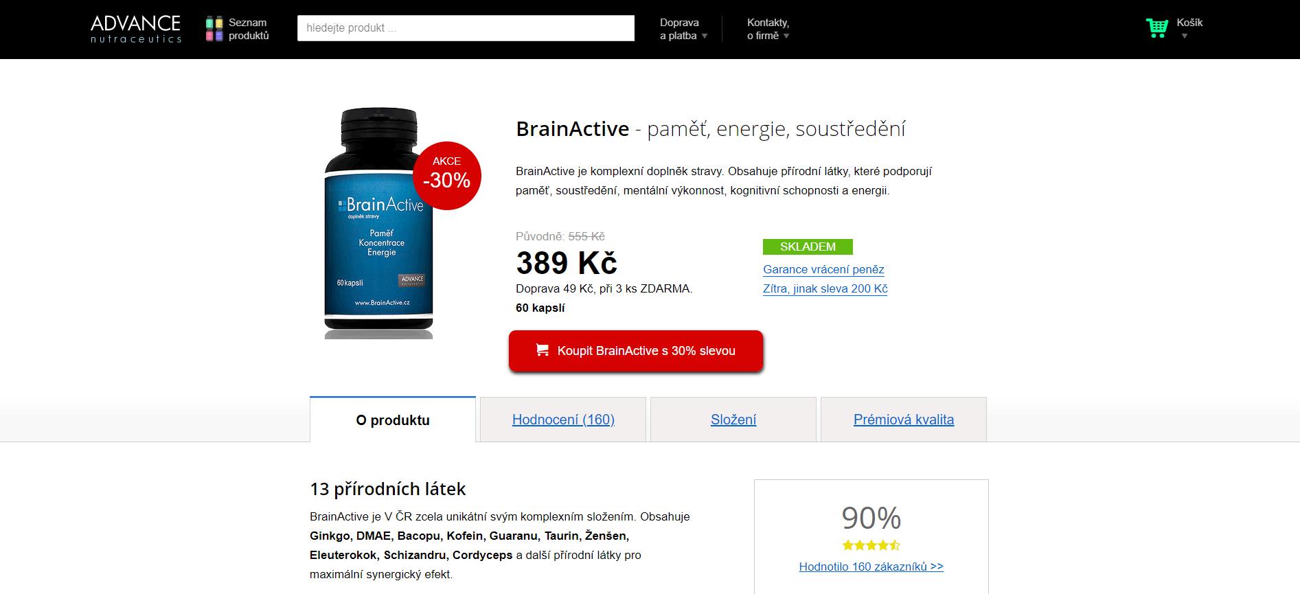 recenze brainactive